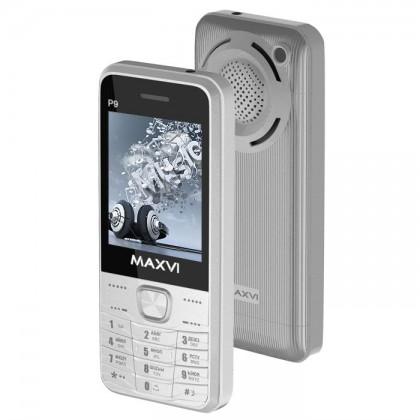c5fc15b335597 Maxvi P9 DS Silver. Декалайн - продажа сотовых телефонов оптом ...