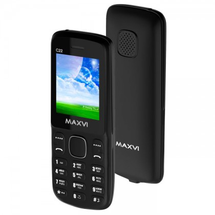 Maxvi C22 DS Black
