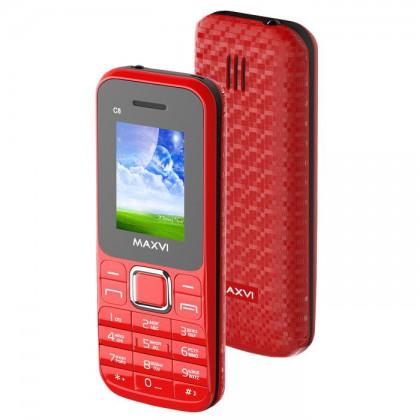 c173eb038591d Maxvi C8 DS Red. Декалайн - продажа сотовых телефонов оптом, продажа ...