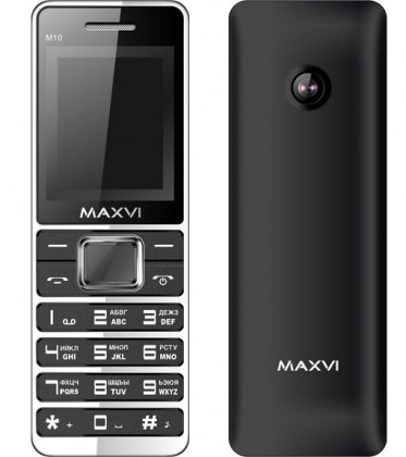 Maxvi M10 DS Black