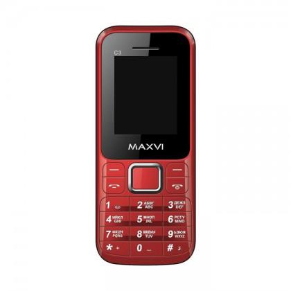 42a439611a397 Maxvi C3 DS Red. Декалайн - продажа сотовых телефонов оптом, продажа ...